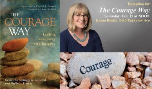 Reception for The Courage Way with Shelly L. Francis @ Kazoo Books