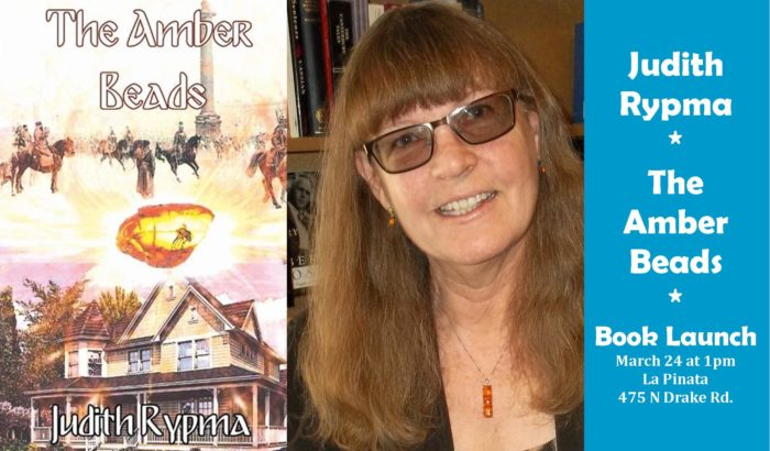 Judith Rypma – The Amber Beads Book Launch