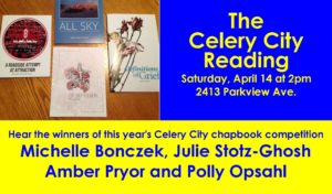 The Celery City Reading @ Kazoo Books