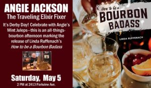 Derby Day! Angie Jackson, the Traveling Elixir Fixer @ Kazoo Books