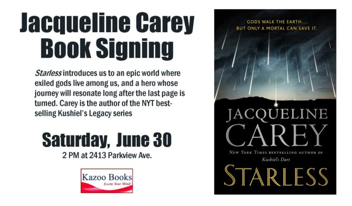 Jacqueline Carey: Starless Book Signing