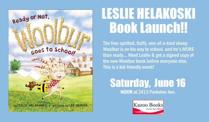 Leslie Helakoski: Woolbur Goes to School Book Launch!!