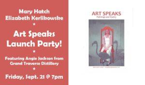 Art Speaks Launch Party!