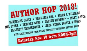 Author Hop 2018! @ Kazoo Books