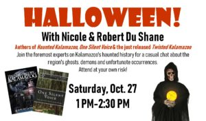 Halloween! with Nicole & Robert Du Shane @ Kazoo Books