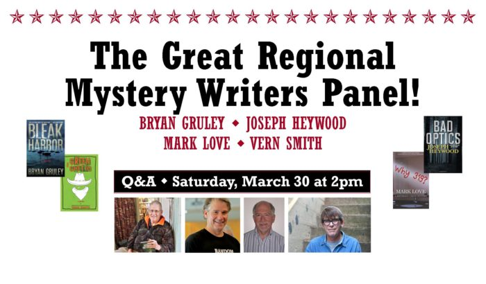 The Great Regional Mystery Writers Panel!