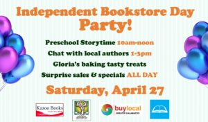 Independent Bookstore Day Party!
