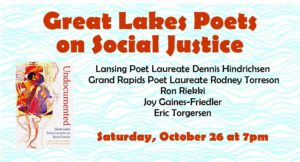 Great Lakes Poets on Social Justice @ Kazoo Books
