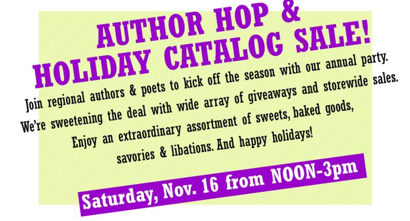 Author Hop & Holiday Catalog Sale