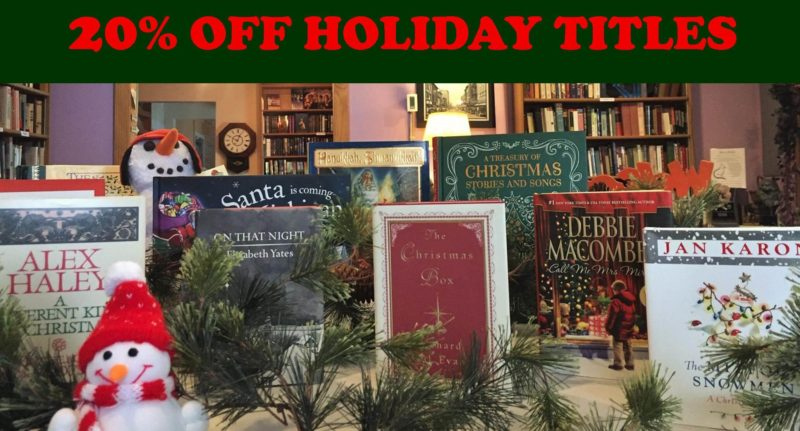 20% Off Holiday Titles