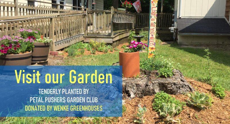 Visit our Garden