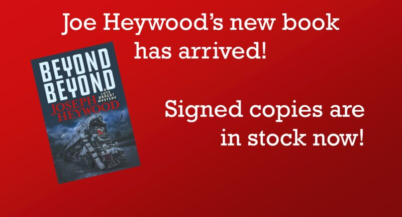 Signed Copies of Beyond Beyond