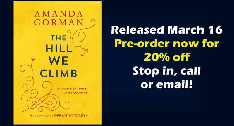 The Hill We Climb Preorder