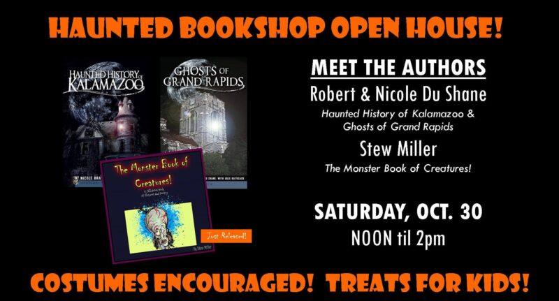 Haunted Bookshop Open House